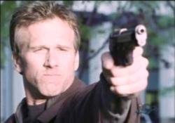 Peter Horton as Ezekiel Stone in Brimstone