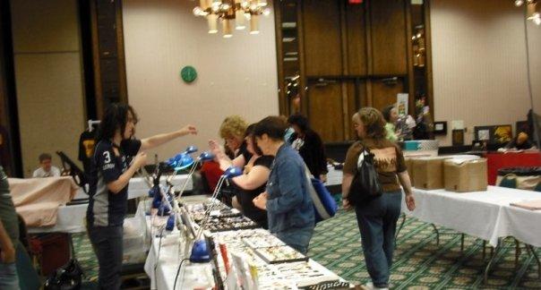 convention dealer's room