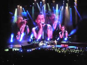 Depeche Mode live in Atlantic City. Photo by sockii.