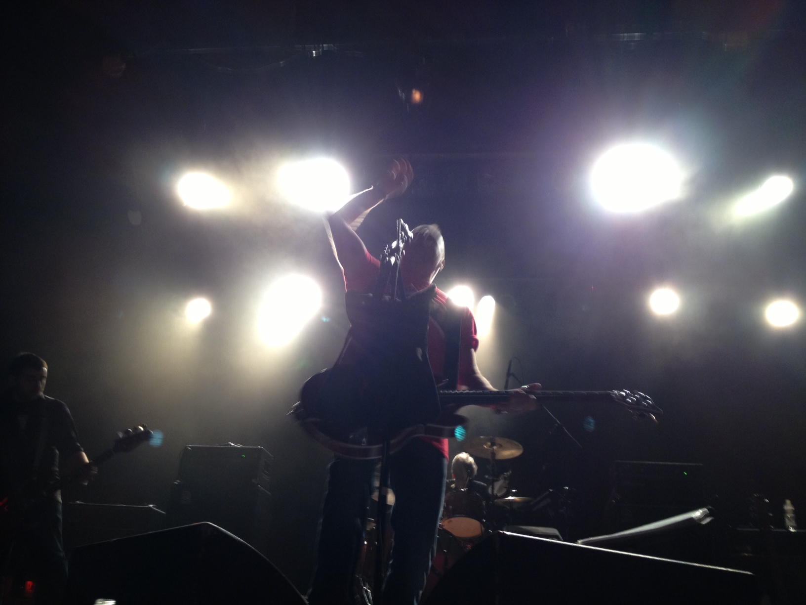 Peter Hook onstage September 14, 2013.