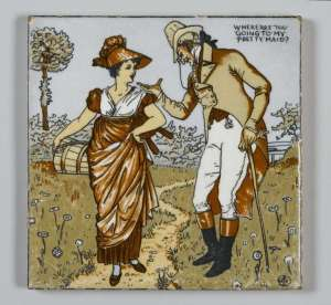 tile by walter crane