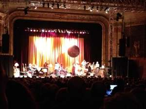 Hugh Laurie & the Copper Bottom Band onstage at the Keswick, October 30 3013