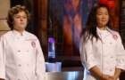 Alexander and Dara in the MasterChef Junior finale.