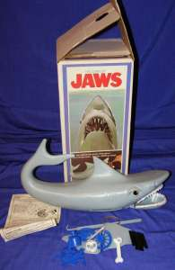Vintage 70s Toy  Jaws Shark Game