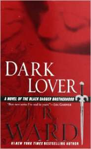 The cover of Dark Lover by J. R. Ward.
