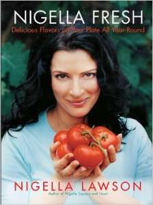"""Nigella Fresh"" - one of the many published cookbooks by The Taste's Nigella Lawson."