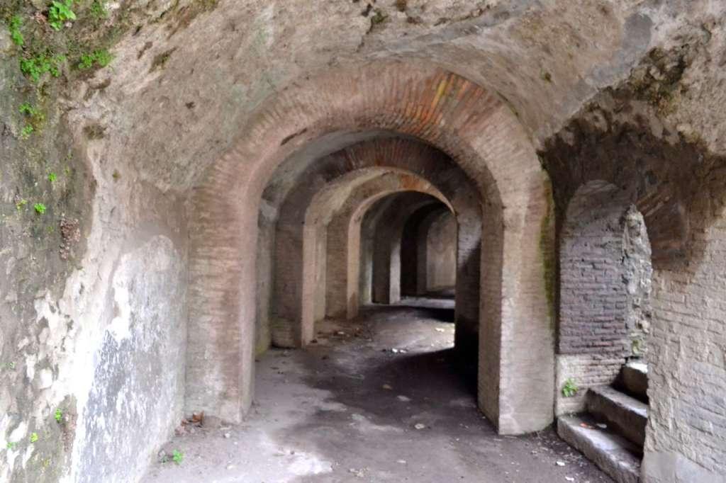 The amphitheatre of Pompeii