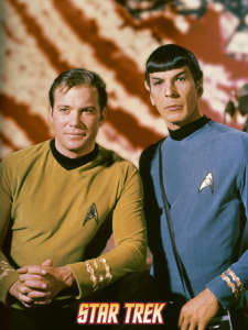 Captain Kirk and Mr Spock
