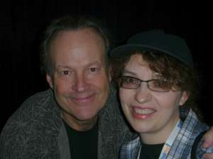 The author (me!) with Dwight Schultz at Dragon*Con, 2009.