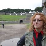 A Pink Floyd fan visits Pompeii