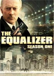 The Equalizer Season 1 on DVD.