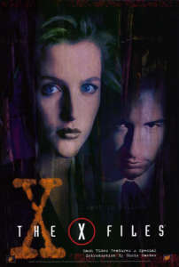 The X-Files poster art