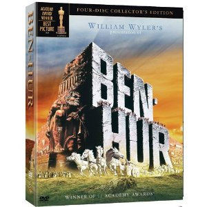 Ben-Hur: The Collector's Edition box set featuring both the 1925 and 1959 films.