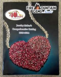 Fire Mountain Gems catalog. Photo by sockii.