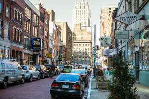 Jeweler's Row in Philadelphia.