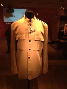 Paul McCartney's jacket from The Beatles live performance at Shea Stadium, August 15, 1965.