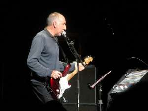 Pete Townshend on stage, October 26, 2008