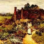 Helen Allingham and her cottages
