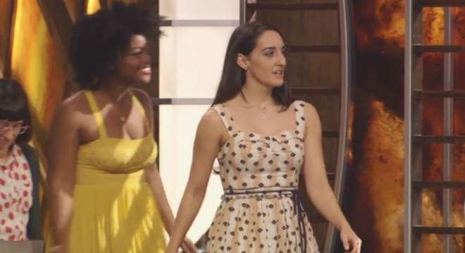 MasterChef Season 5 contestants Whitney Bray and Courtney Lapresi.