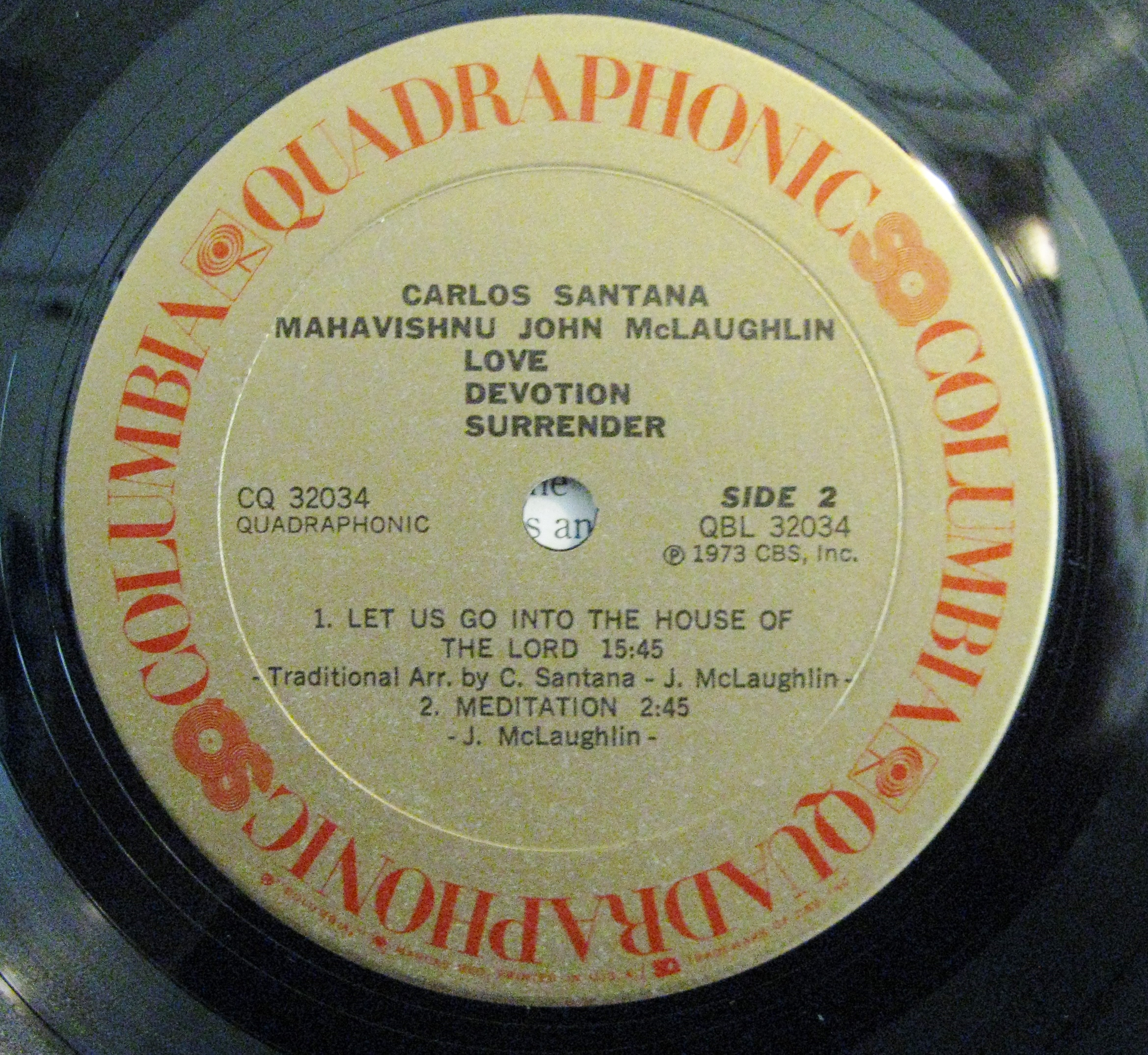 Learn About Vintage Quadraphonic Record Collecting Also
