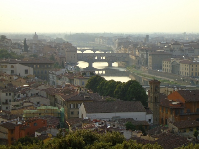 The Italian city of Florence, where much of the action in Immortal takes place.