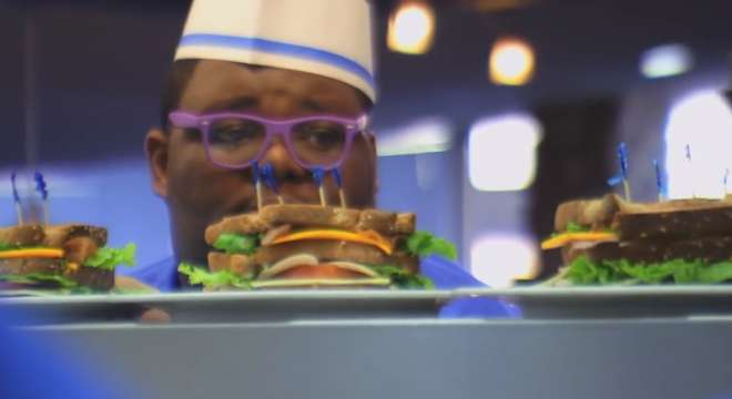 Screen capture from the July 14 2014 episode of MasterChef.