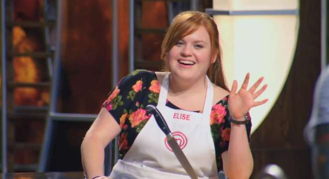 Screencapture from the July 21 2014 episode of MasterChef.