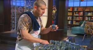 Tyler on MasterChef season 5