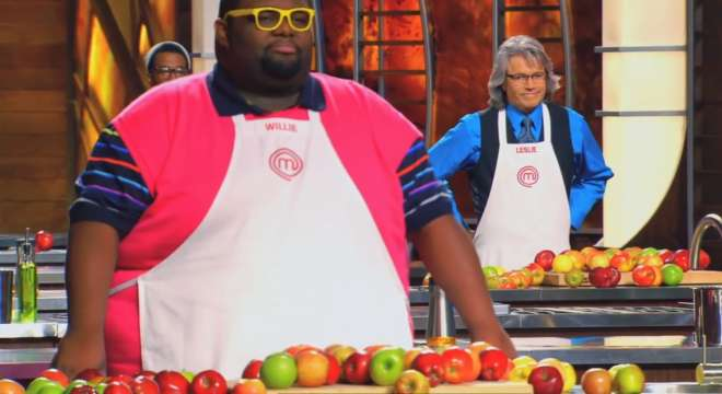 Screencap from the August 26, 2014 episode of MasterChef.