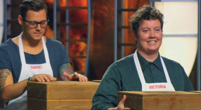 Screencap from the August 4 episode of MasterChef.