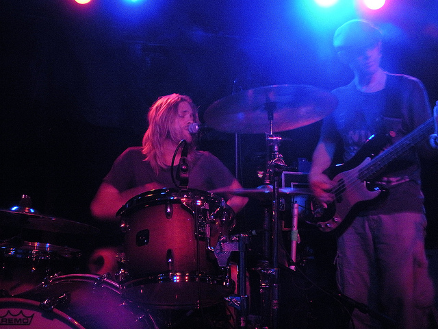 Taylor Hawkins and the Coattail Riders, live in Baltimore May 4, 2010.