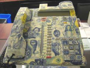 A Decoupage Telephone