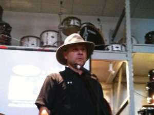 Jeff Seitz at Tama Day, July 10, 2010.
