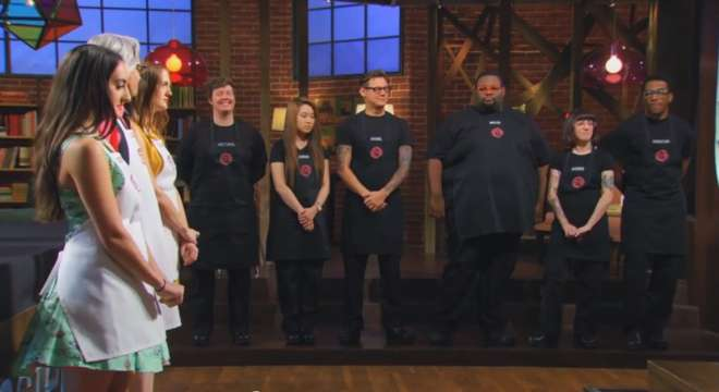 Screencapture from the MasterChef finale on September 15, 2014.