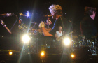 The Police onstage at Giants Stadium, August 5 2007.