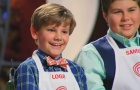 Screen cap from the November 25 2014 episode of MasterChef Junior.