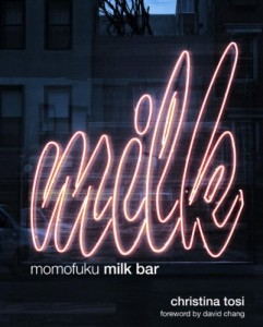"""Momofuku Milk Bar"", the first cookbook by Christina Tosi"