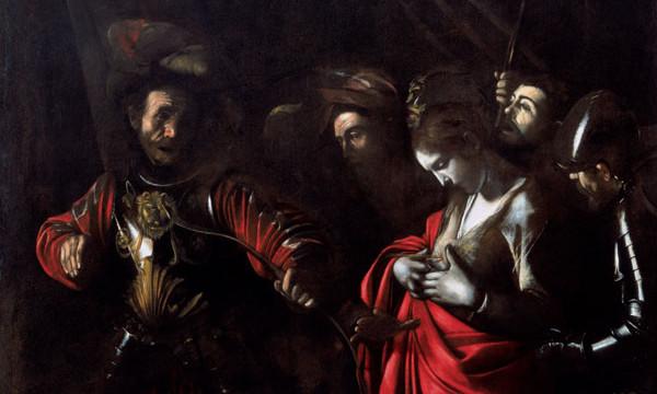 """The Martyrdom of Saint Ursula""."