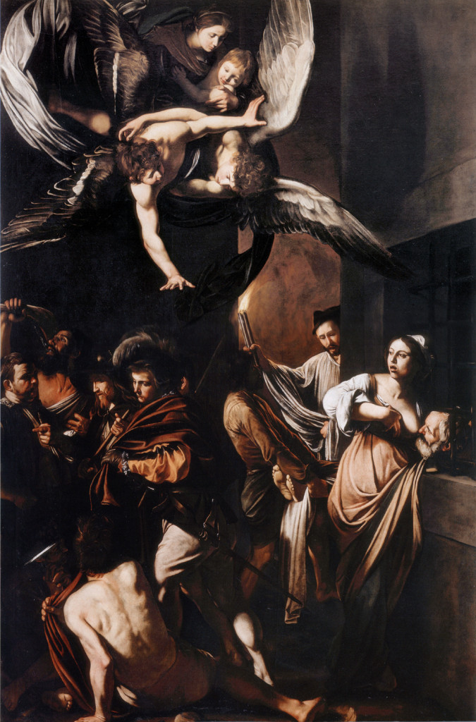 """Sette opere di Misericordia"" (Seven Works of Mercy) by Caravaggio Source: Wikipedia, public domain"