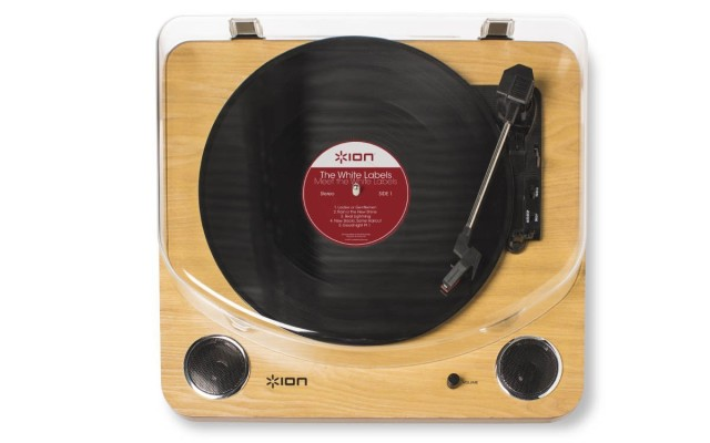 how to use ion record player