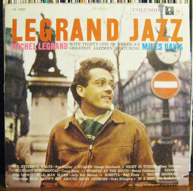 Miles Davis Michel Legrand Jazz LP Cover Paris
