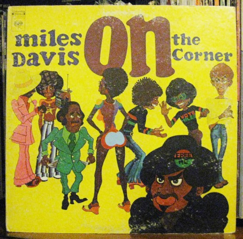 Miles Davis On The Corner LP Cover Corky McCoy Art