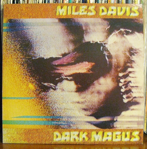 Dark Magus LP Cover Miles Davis