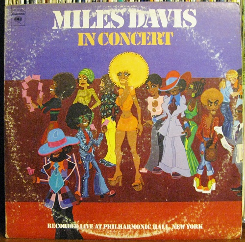 Miles Davis In Concert LP Cover Corky McCoy Artwork