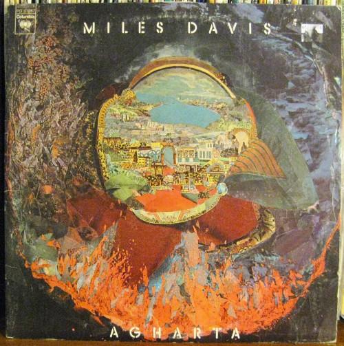 Miles Davis LP Cover Agharta