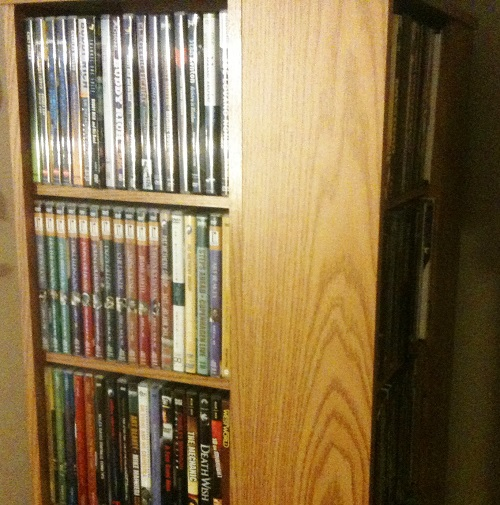 dvd tower