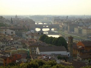 Florence, Italy is a wonderful city rich with artistic history - and art workshops.