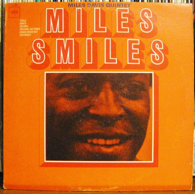 Miles Smiles Album Cover from Miles Davis