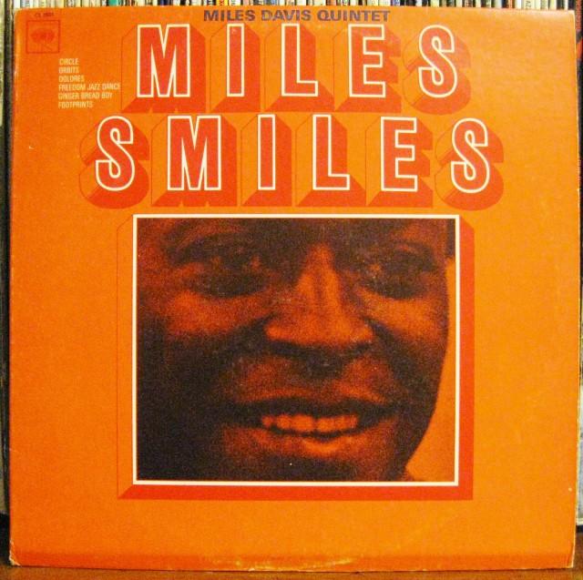 Miles Smiles Album Cover from Miles Davis