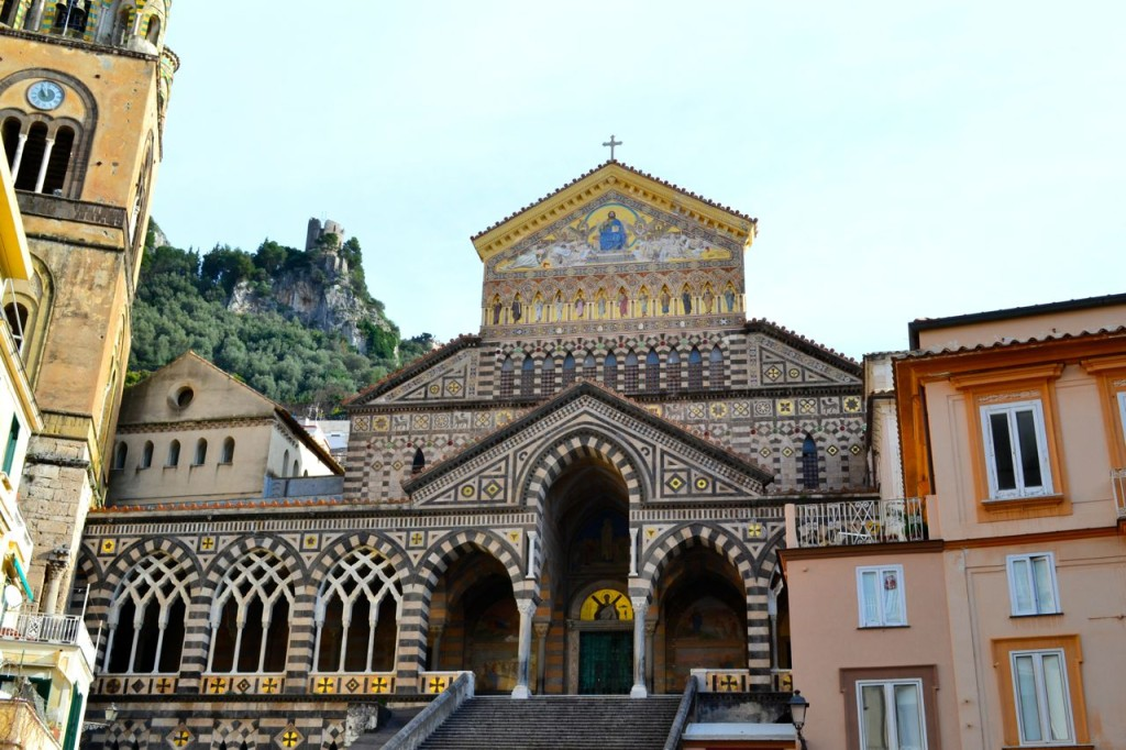 The beautiful Duomo di Amalfi